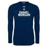 Under Armour Navy Long Sleeve Tech Tee-Daniel Morgan Stacked