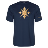 Performance Navy Tee-Compass