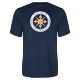 Performance Navy Tee-Badge