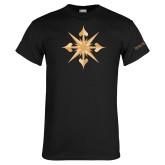 Black T Shirt-Compass