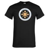 Black T Shirt-Badge