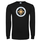 Black Long Sleeve T Shirt-Badge