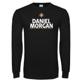 Black Long Sleeve T Shirt-Daniel Morgan Stacked