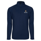 Sport Wick Stretch Navy 1/2 Zip Pullover-Graduate School of National Security