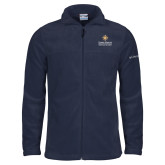Columbia Full Zip Navy Fleece Jacket-Graduate School of National Security