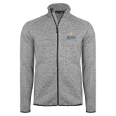 Grey Heather Fleece Jacket-Graduate School of National Security