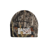 Mossy Oak Camo Fleece Beanie-Daniel Morgan w/ Compass