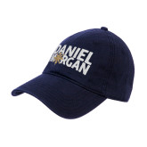 Navy Twill Unstructured Low Profile Hat-Daniel Morgan w/ Compass