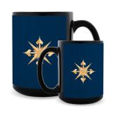Full Color Black Mug 15oz-Compass