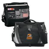 Slope Black/Grey Compu Messenger Bag-Thomas Doanes Tigers