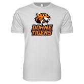 Next Level SoftStyle White T Shirt-Thomas Doanes Tigers