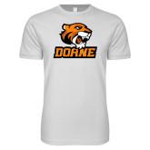 Next Level SoftStyle White T Shirt-Thomas Doane