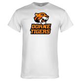 White T Shirt-Thomas Doanes Tigers