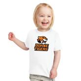 Toddler White T Shirt-Thomas Doanes Tigers