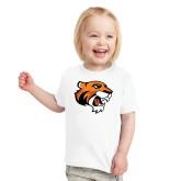 Toddler White T Shirt-Thomas Tiger Head