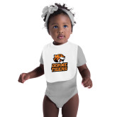 White Baby Bib-Thomas Doanes Tigers