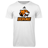 Adidas Climalite White Ultimate Performance Tee-Thomas Doane