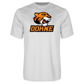 Performance White Tee-Thomas Doane
