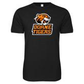 Next Level SoftStyle Black T Shirt-Thomas Doanes Tigers