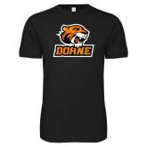 Next Level SoftStyle Black T Shirt-Thomas Doane