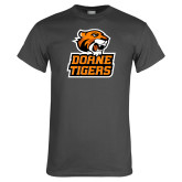 Charcoal T Shirt-Thomas Doanes Tigers