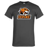 Charcoal T Shirt-Thomas Doane