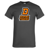 Charcoal T Shirt-D Doane Tigers
