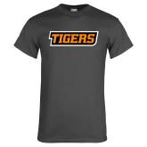 Charcoal T Shirt-Tigers