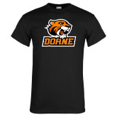 Black T Shirt-Thomas Doane