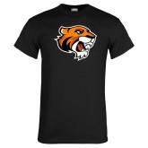 Black T Shirt-Thomas Tiger Head