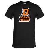Black T Shirt-D Doane Tigers
