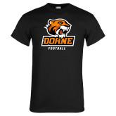 Black T Shirt-Football
