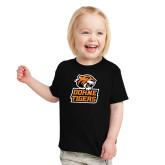 Toddler Black T Shirt-Thomas Doanes Tigers