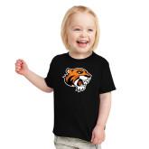 Toddler Black T Shirt-Thomas Tiger Head