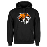 Black Fleece Hoodie-Thomas Tiger Head