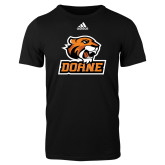 Adidas Black Logo T Shirt-Thomas Doane