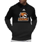 Adidas Black Team Issue Hoodie-Thomas Doane