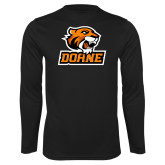 Performance Black Longsleeve Shirt-Thomas Doane