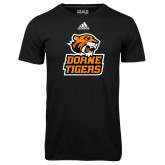 Adidas Climalite Black Ultimate Performance Tee-Thomas Doanes Tigers