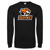 Black Long Sleeve T Shirt-Thomas Doane