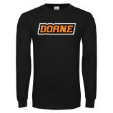 Black Long Sleeve T Shirt-Doane