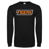 Black Long Sleeve T Shirt-Tigers