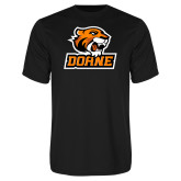 Performance Black Tee-Thomas Doane