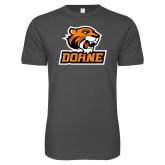 Next Level SoftStyle Charcoal T Shirt-Thomas Doane