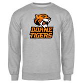 Grey Fleece Crew-Thomas Doanes Tigers