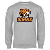Grey Fleece Crew-Thomas Doane