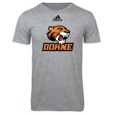 Adidas Sport Grey Logo T Shirt-Thomas Doane