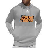 Adidas Grey Team Issue Hoodie-Thomas Doanes Tigers