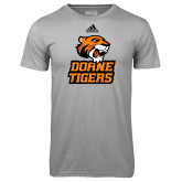 Adidas Climalite Sport Grey Ultimate Performance Tee-Thomas Doanes Tigers