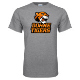 Grey T Shirt-Thomas Doanes Tigers